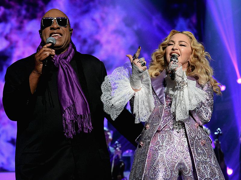 Madonna (and Stevie Wonder!) Perform Prince Tribute at Billboard Music Awards: 'Thank You for All You Have Given Us'