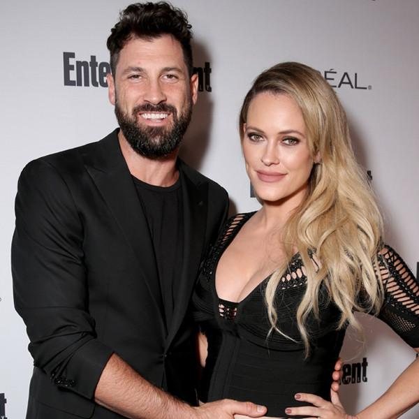 Maksim Chmerkovskiy and Peta Murgatroyd Head to the Hospital on Son's Due Date: 'But First a Little Makeup'