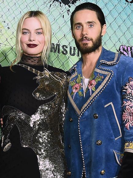 Margot Robbie Talks Kissing Jared Leto in Full Makeup in Suicide Squad: 'It's So Messy'