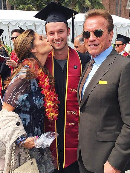Maria Shriver and Arnold Schwarzenegger Come Together for Son Patrick's College Graduation