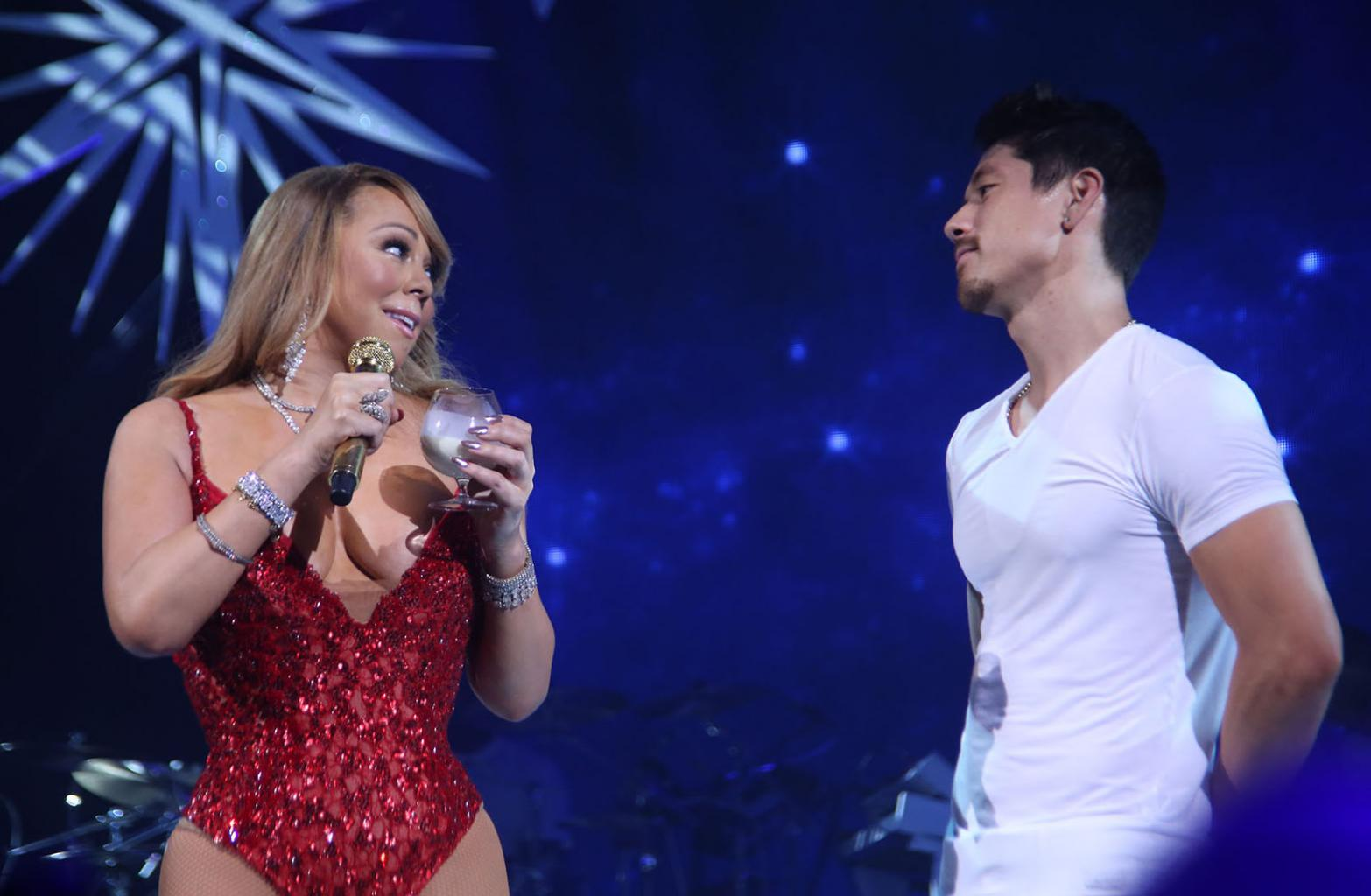 Mariah Carey And Bryan Tanaka Are Heating Up, Source Says:    He  's Going To Be Her New Year  's Kiss