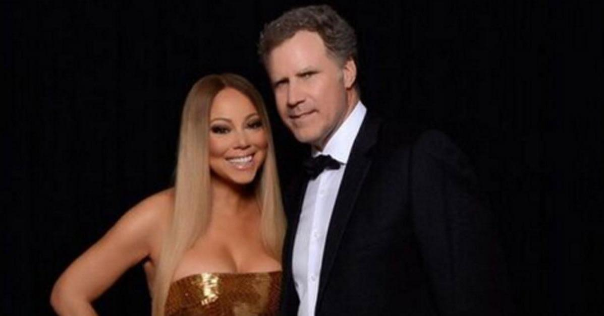 Mariah Carey and Will Ferrell Are the World's Most Unlikely