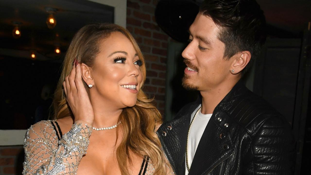 Mariah Carey Kisses Boyfriend Bryan Tanaka in    Provocative '  Pda Pic