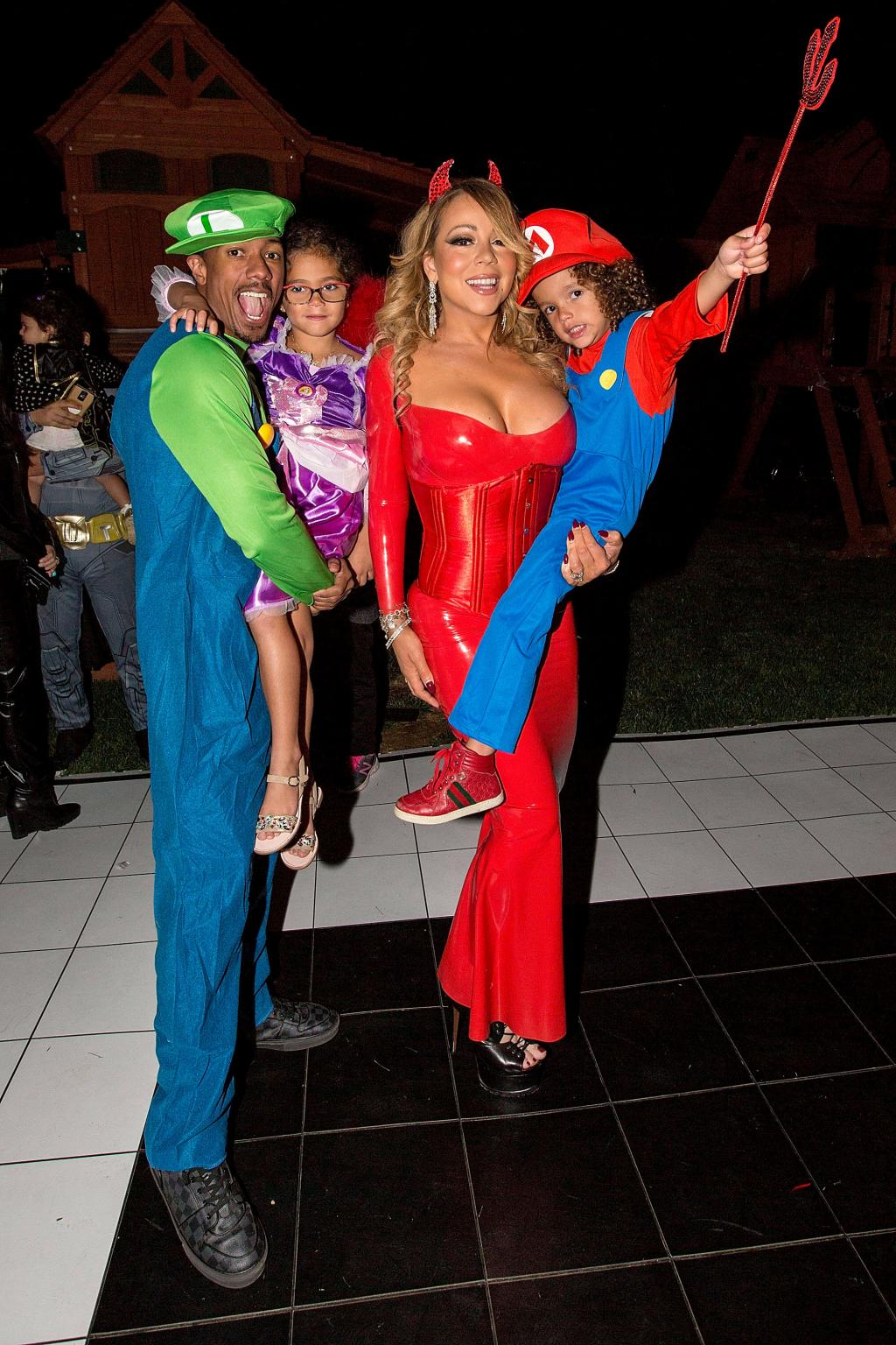Mariah Carey Reunited with Ex Nick Cannon for Halloween Fun with Their Kids