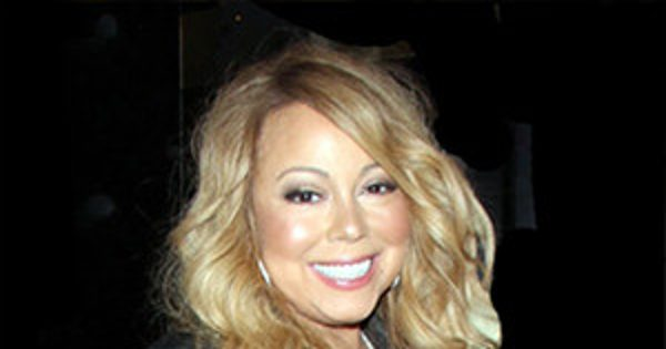 Mariah Carey Wears Sexy Black Corset and Fishnets at Her DJ Debut in Las Vegas