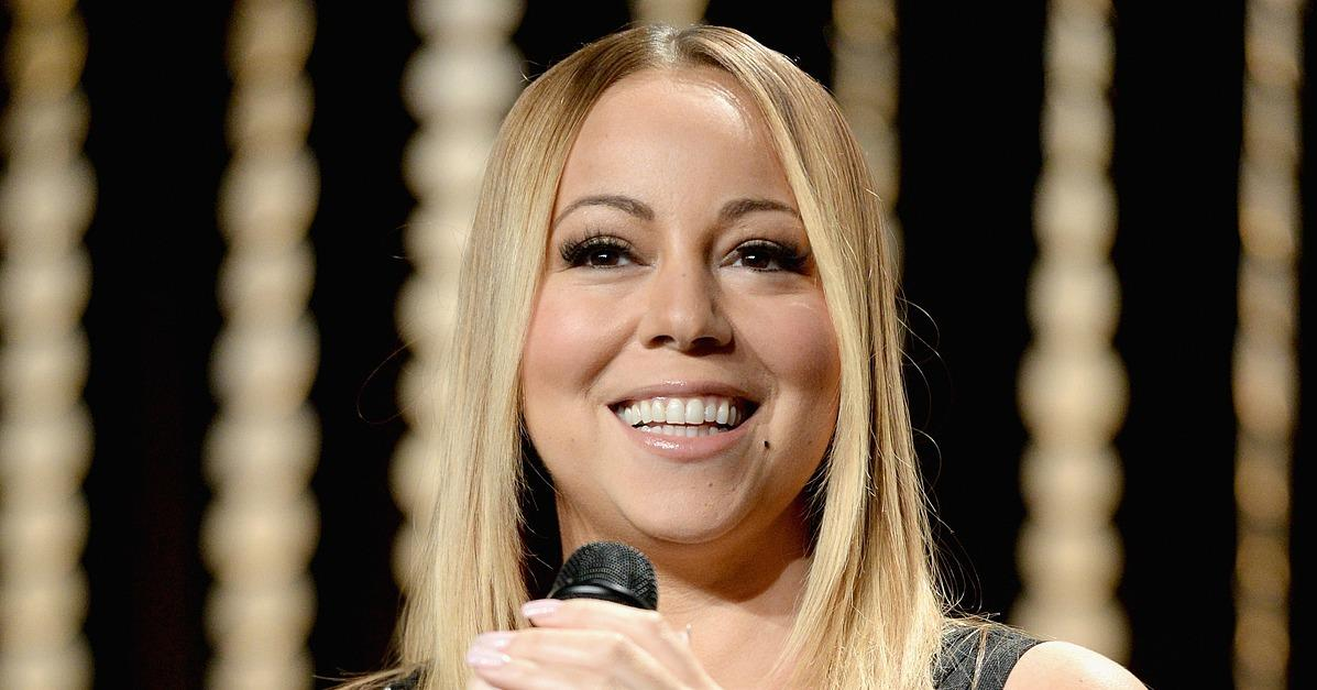 Mariah Carey's Megawatt Smile Is Almost as Blinding as Her 3