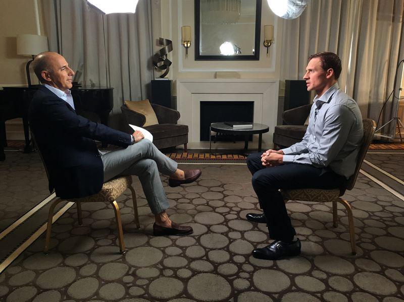 Matt Lauer To Confront Ryan Lochte About Rio Robbery Scandal