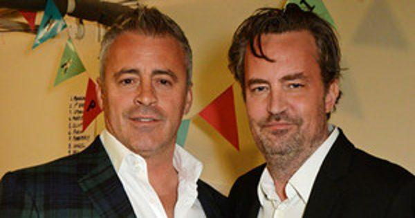 Matt LeBlanc & Matthew Perry Have a Friends Reunion in London