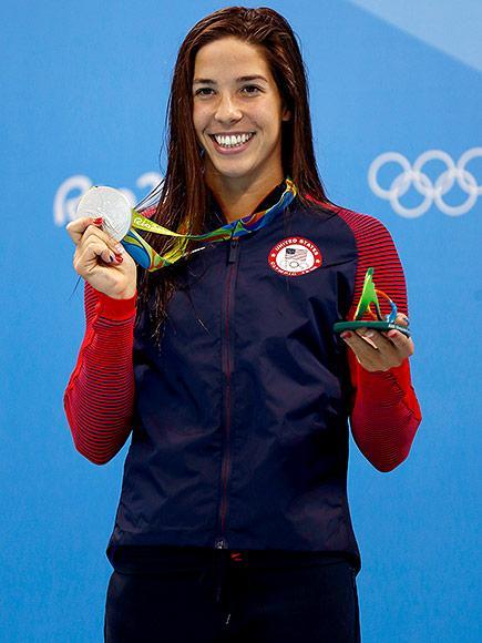 Maya Dirado Celebrated First (and Last!) Olympics Shedding 'So Many Tears' with Roommates Simone Manuel and Katie Ledecky