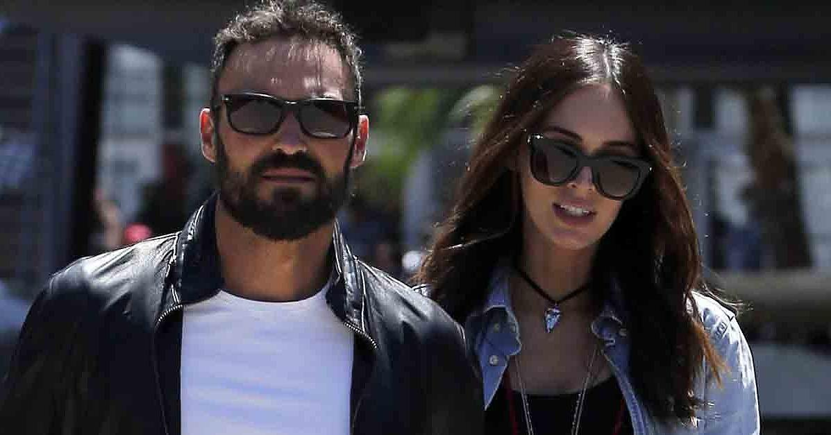 Megan Fox and Brian Austin Green Look Happy and Relaxed Foll