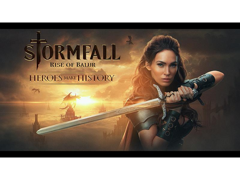 Megan Fox Joins Stormfall: Rise of Balur Mobile Game