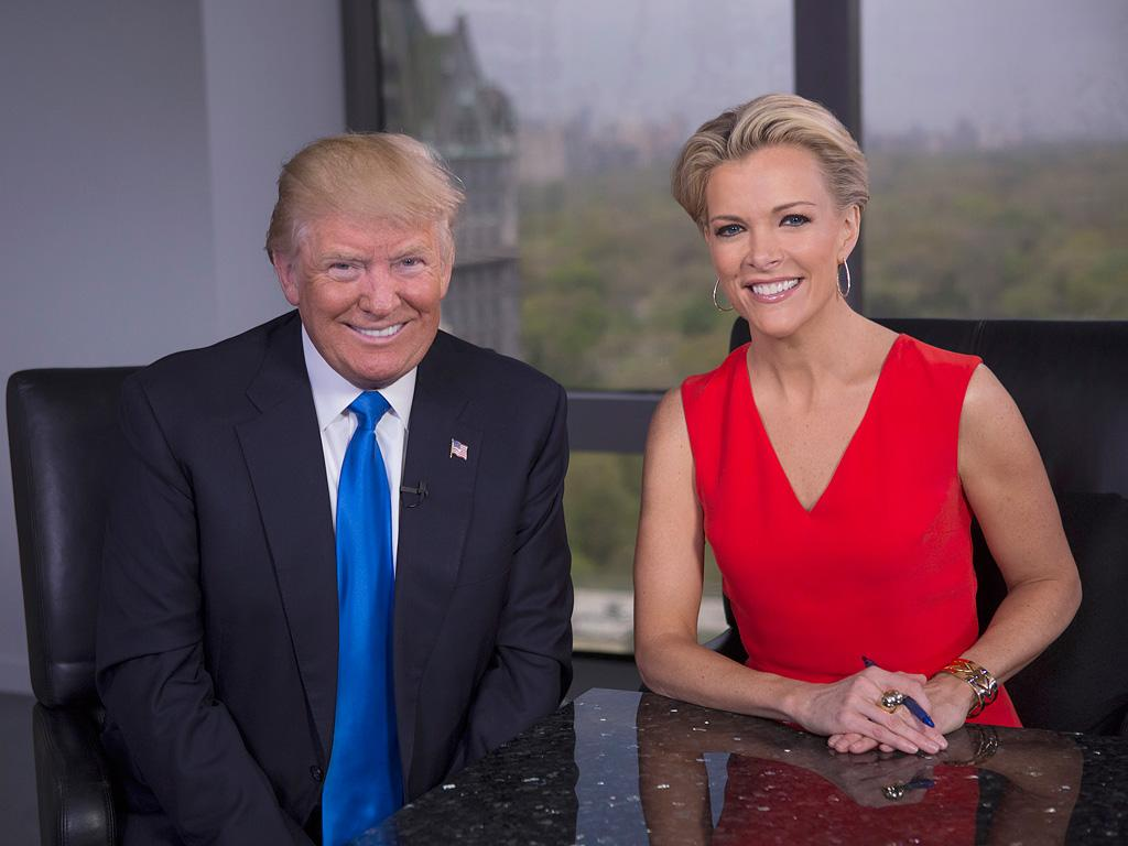 Megyn Kelly and Donald Trump Are All Smiles as They Sit Down for an Interview After Vicious 8-Month Feud