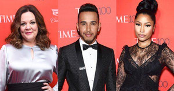 Melissa McCarthy, Lewis Hamilton, Nicki Minaj and More Stars Stun at Time 100 Gala