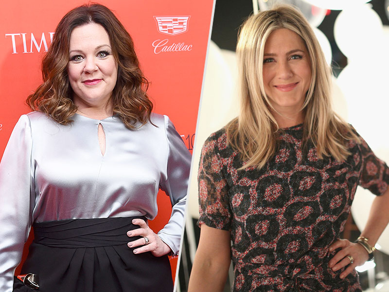 Melissa McCarthy Supports Jennifer Aniston's Essay About Body Shaming: 'Everybody Needs to Stop Tearing Down Women'