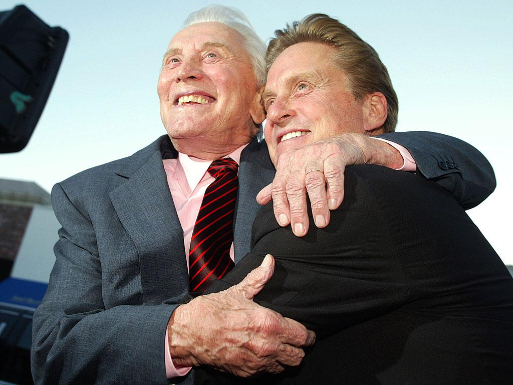 Michael Douglas Recalls What His Dad, Kirk Douglas, Said After His First Acting Gig: 'You Were Absolutely Terrible'