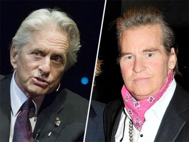 Michael Douglas Says Val Kilmer Is Battling Cancer:        Things Don       't Look Too Good for Him