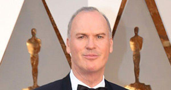 Michael Keaton's Walk to the Oscars Stage Features Plenty of