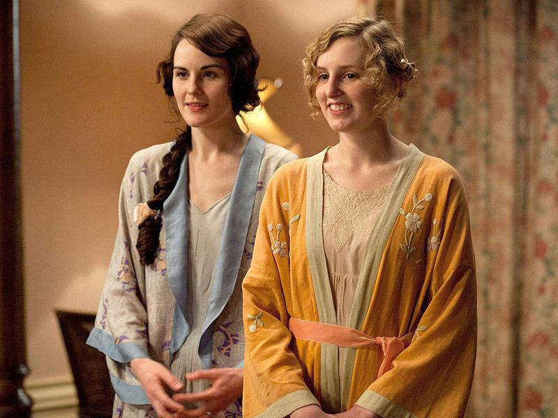 Michelle Dockery Dishes on Downton Abbey's Emotional Truce B