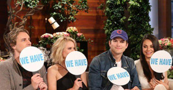 Mila Kunis, Ashton Kutcher, Kristen Bell and Dax Shepard Play