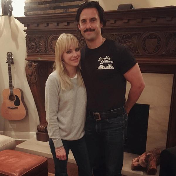 Milo Ventimiglia Transforms Into This Is Us' Jack Pearson While Discussing Santa With Anna Faris' Son