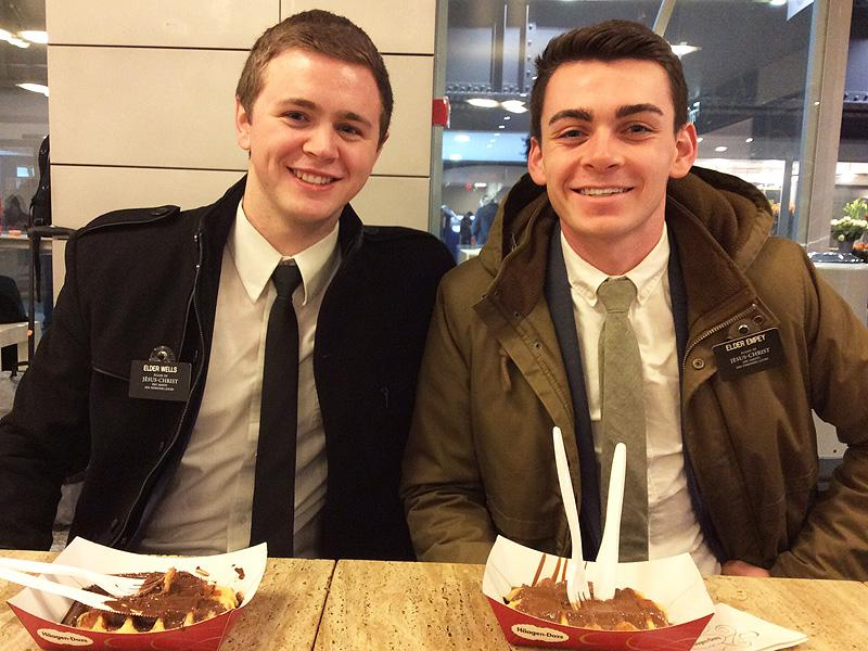 Mormon Missionaries Return to Utah After Suffering Injuries
