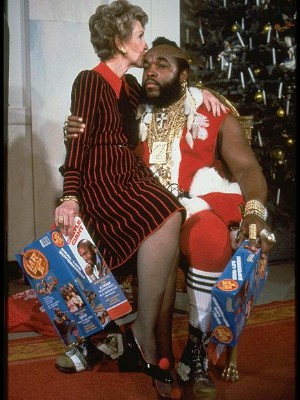 Mr. T Calls Working with Nancy Reagan on Her 'Just Say No' C