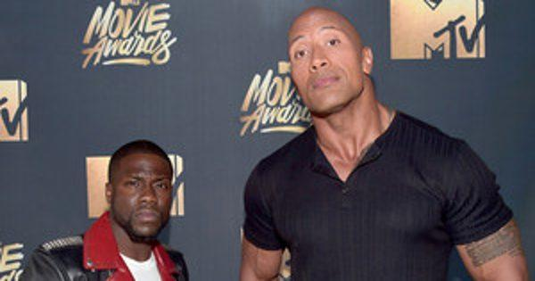 MTV Movie Awards: Why Kevin Hart and Dwayne Johnson Are the
