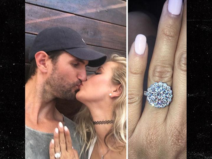 NBA's Jeff Withey -- Engaged to Playmate Gf ... Who Busted Him for Cheating (Photos)