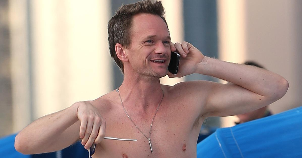Neil Patrick Harris Skips the Oscars and Hits the Beach Inst