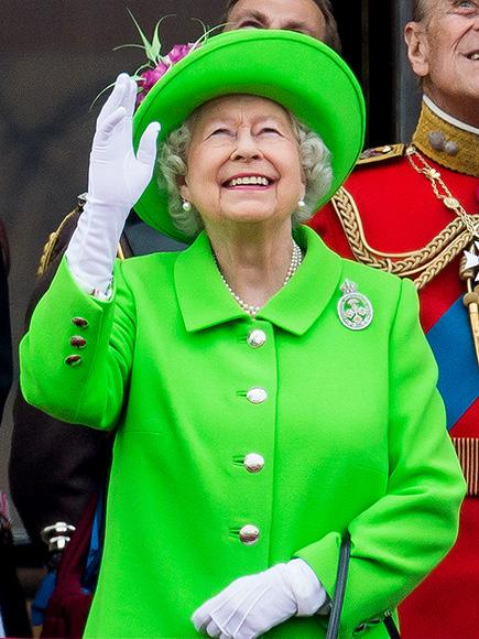 Neon at 90! Queen Elizabeth Makes Sure All Eyes Are on Her Bright Green Ensemble at Birthday Celebration