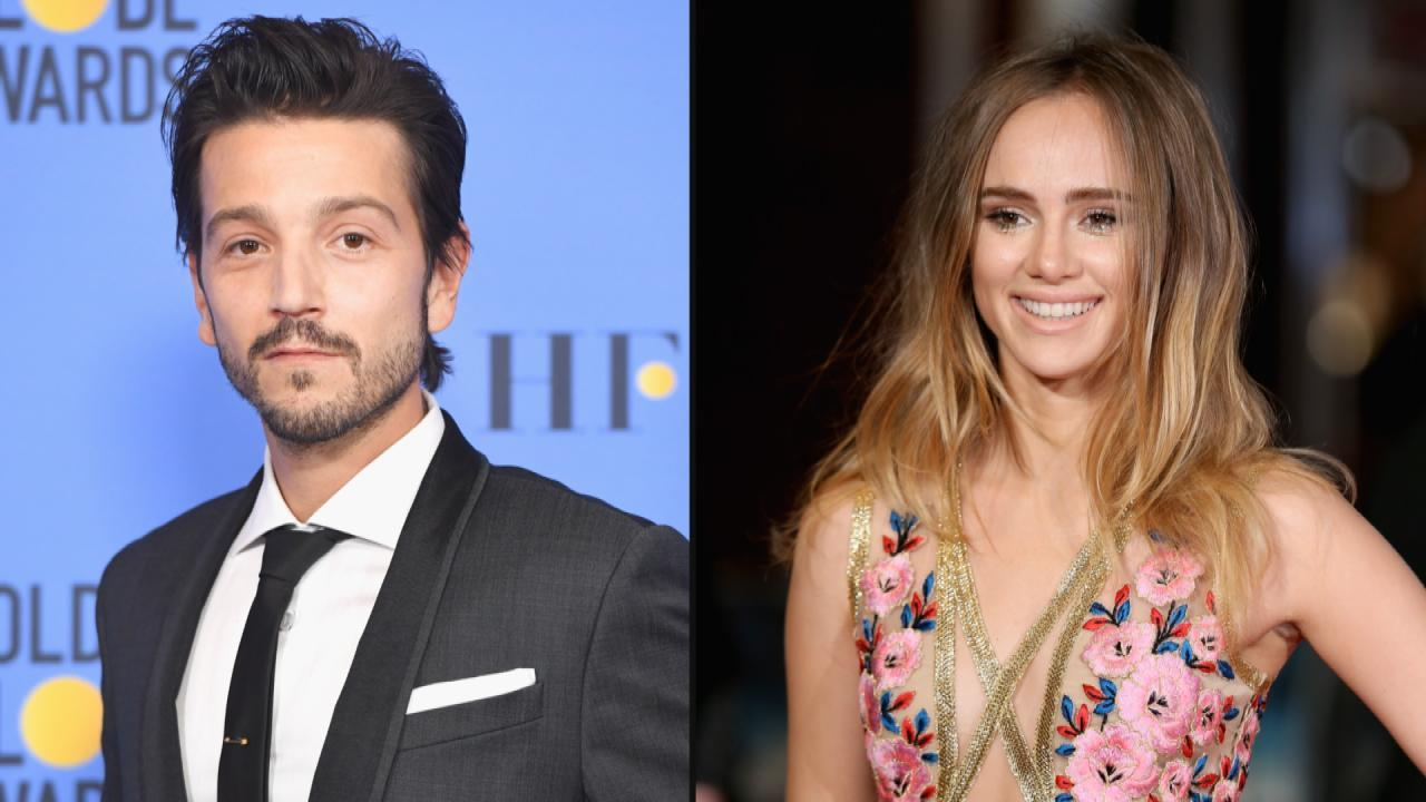 New Couple Alert? 'Rogue One' Star Diego Luna and Suki Waterhouse Spotted Kissing in Mexico