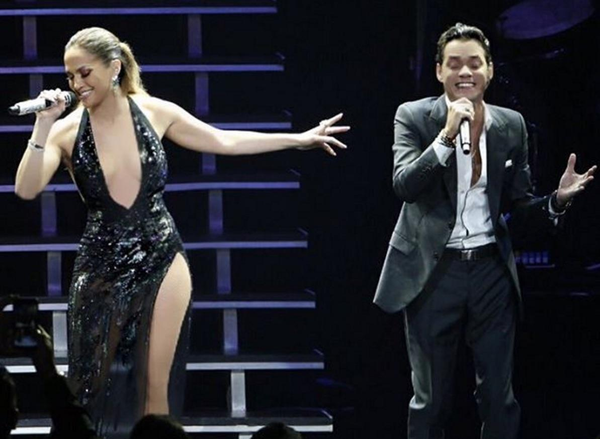 Newly Single Jennifer Lopez Joins Ex Marc Anthony Onstage In Surprise Appearance