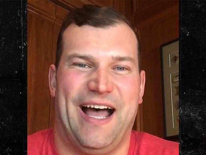 NFL's Joe Thomas -- Christian McCaffrey's Bench Press Is Pitiful ... But He's Still a Stud (Video)