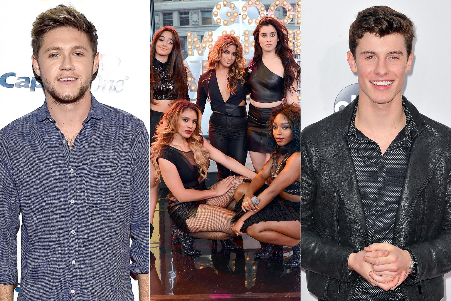 Niall Horan, Shawn Mendes and Fifth Harmony Set to Perform on ABC's New Year's Rockin' Eve