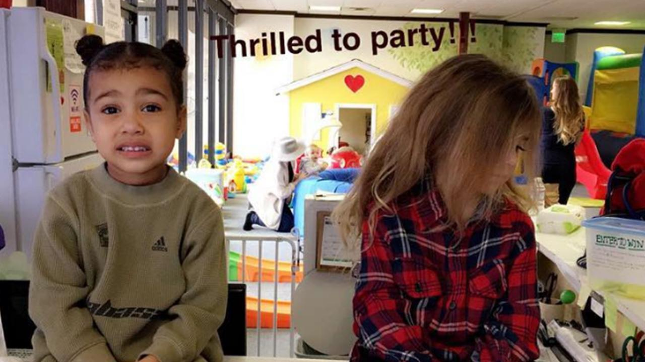 North West's Hilarious 'Thrilled to Party' Face With Penelope Disick Is an Instant Meme