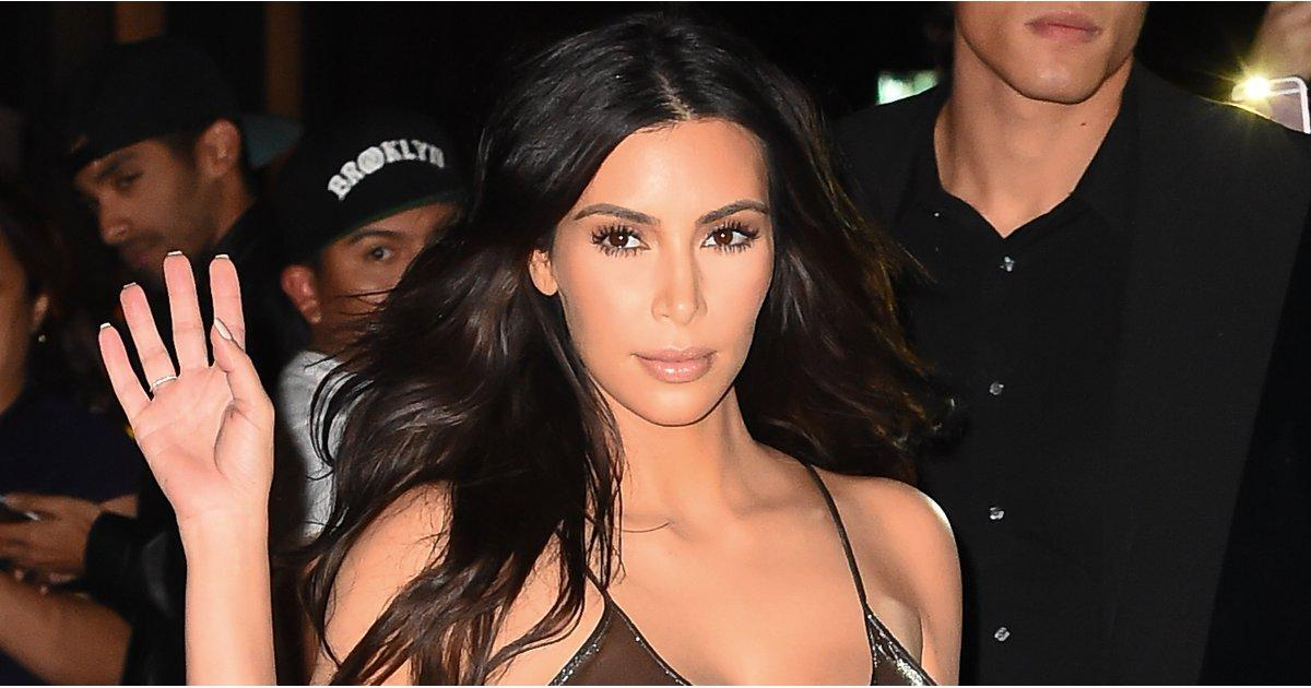 Nsfw: Kim Kardashian Exposes Her Nipples in a See-Through Dress on Her Way to Kanye West's Concert