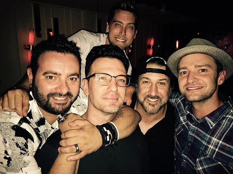 'Nsync Reunion Alert! The Boy Band Reunites to Celebrate Jc Chasez's 40th Birthday