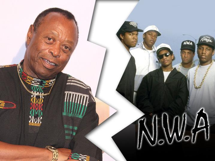 N.W.A. -- 'Express Yourself' Banned at H.O.F ... Says Funk Legend