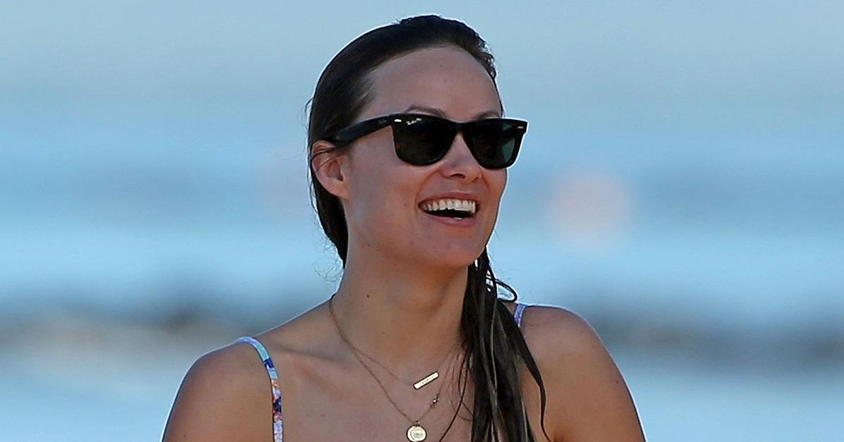 Olivia Wilde Has the Most Adorable Beach Day With Her Family