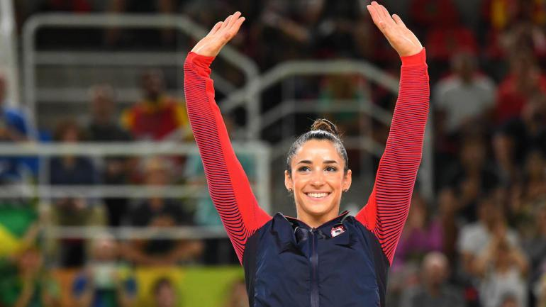 Olympian Aly Raisman agrees to date with 'super cute' Raiders TE