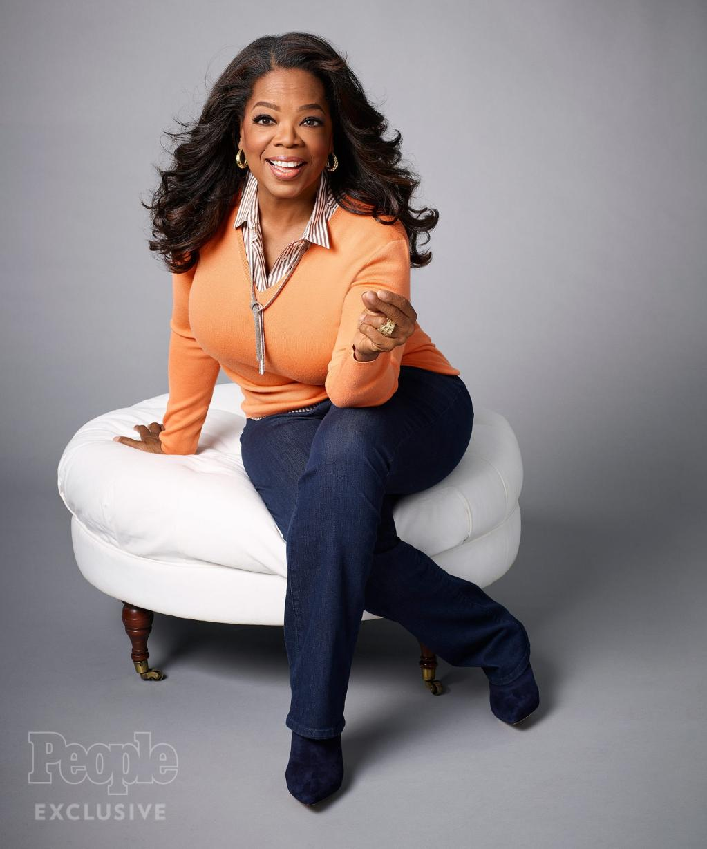Oprah Reveals Her Emotional Lifetime Battle with Food:    My Public Struggle with Weight Always Embarrassed Me