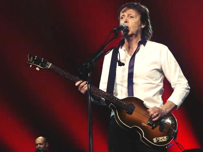 Paul McCartney Plays a 'Hometown Tribute' to Prince: Thank You 'For Writing So Many Beautiful Songs'