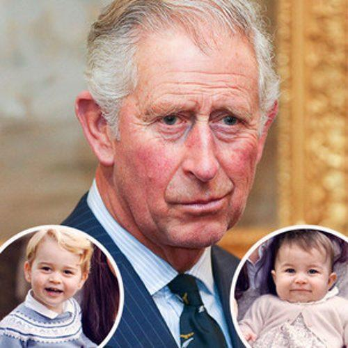 Prince Charles Jokes About Changing Charlotte and George's D