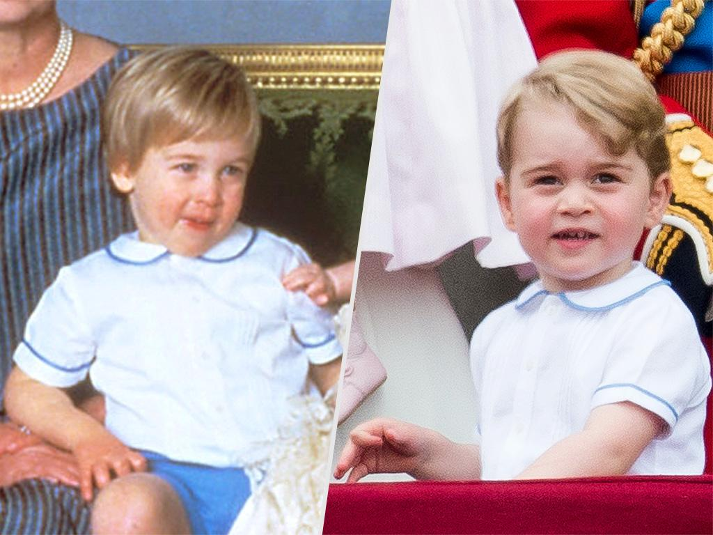Prince George Wears His Dad William's Toddler Clothes - Again!