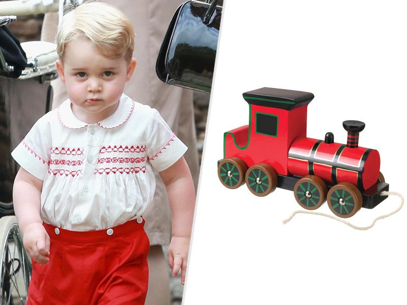 Prince George's Favorite $24 Toy Train Is About to Sell Out