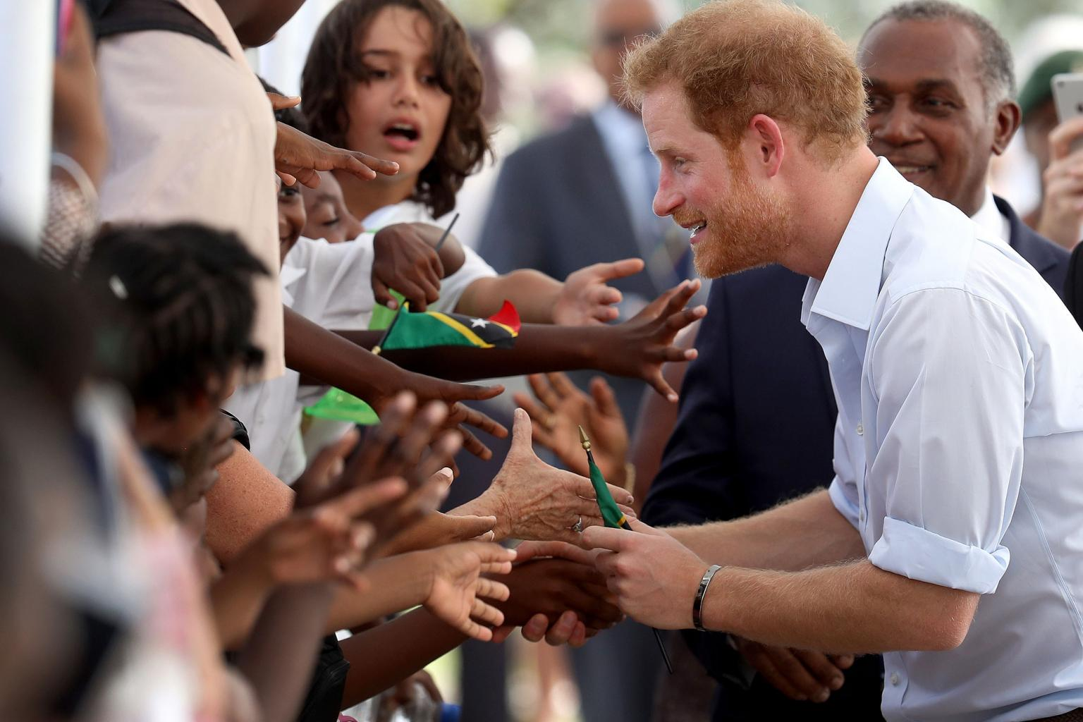 Prince Harry Makes Impromptu Stop During Caribbean Trip to Chat with Pre-Schoolers