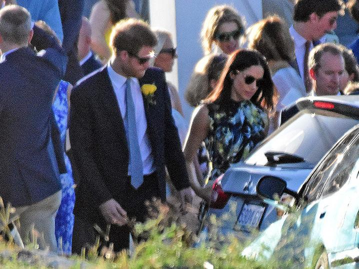 Prince Harry, Meghan Markle, Wedding Bells Ring, Sort Of (Photo)