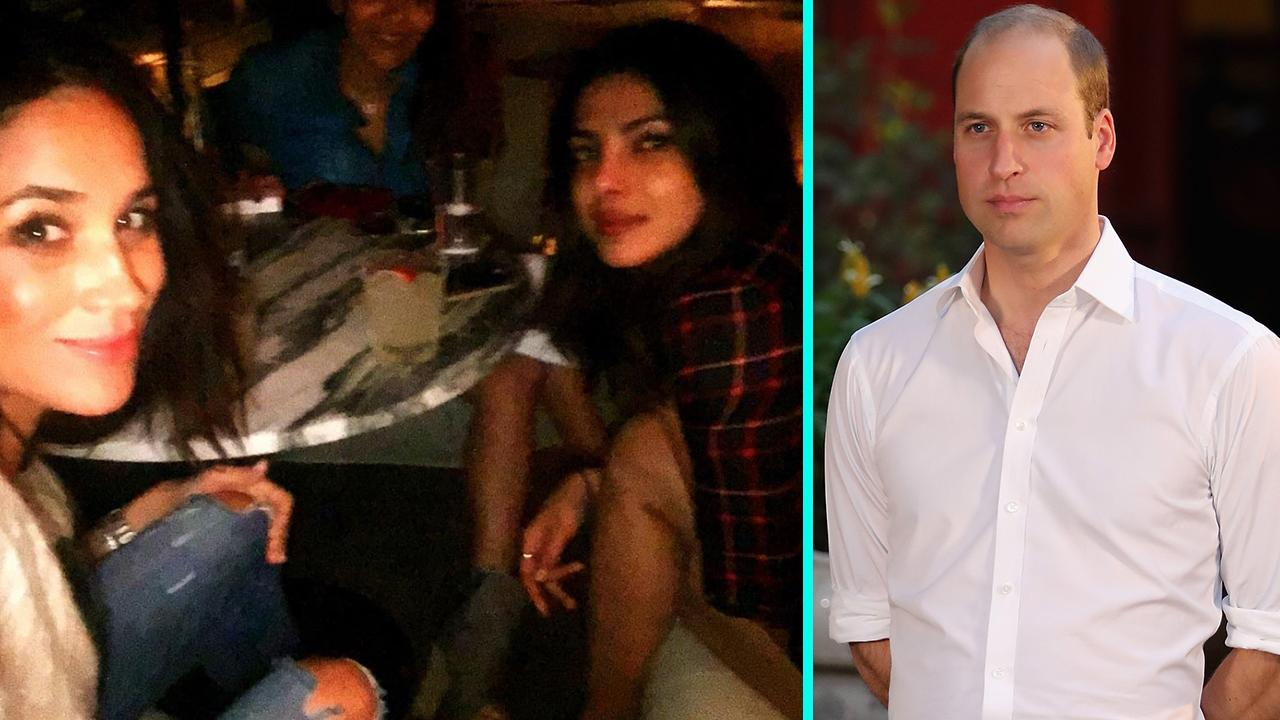 Prince Harry's Girlfriend Meghan Markle Hangs Out With Priyanka Chopra as Prince William Denies Disapproval