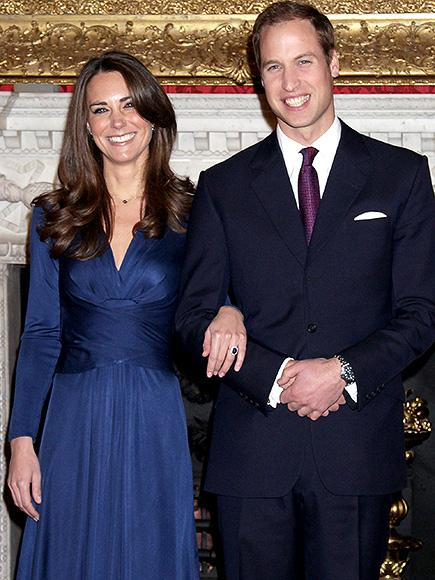 Princess Kate's Famous Blue Engagement Dress is Back - and It Costs Just $175!