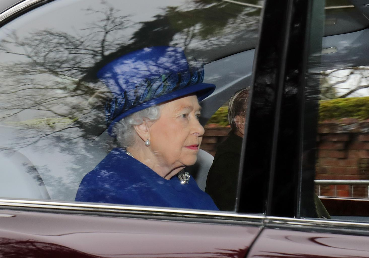 Queen Elizabeth Attends Church With Prince Philip After Recovering From Illness